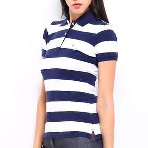 NAUTICA STRIPED POLO | XS | GREAT CONDITION
